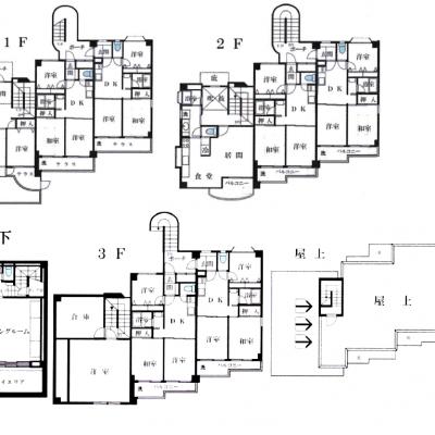 平面図1階・2階