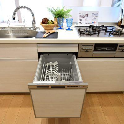 LIXILシステムキッチン(食器洗浄乾燥機付)